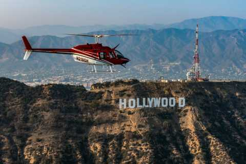 10-Minute Hollywood Sign Helicopter Tour
