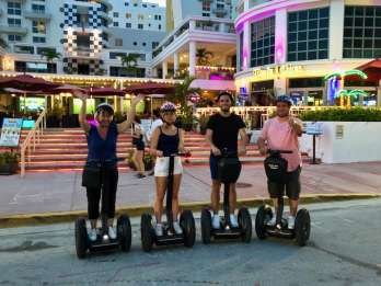 Miami: South Beach Panorama-Segway-Tour bei Nacht