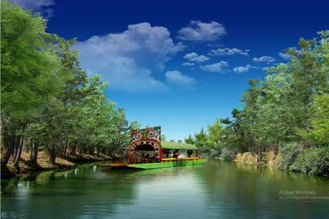 Xochimilco and Colonial Coyoacan: Half-Day Tour