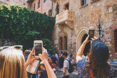 Verona: Excursão a pé com ingresso para a Arena