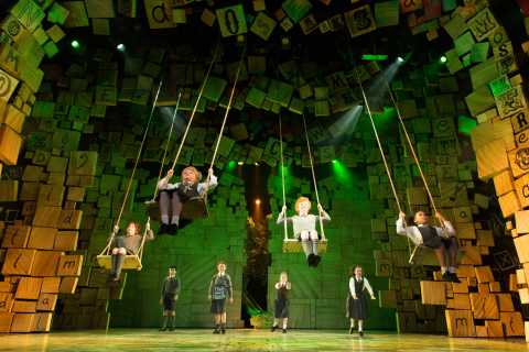 Matilda the Musical in London's West End