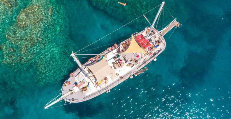 From Rhodes: Day Cruise with Snorkeling and Lunch Buffet