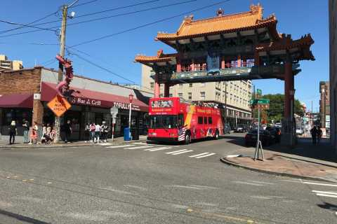 Seattle: Hop-on-hop-off-sightseeingbustur