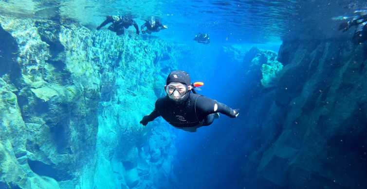 Silfra: Snorkeling and Golden Circle Tour with Free Photos