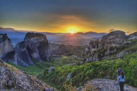 Meteora Evening Tour with Breathtaking Sunset View