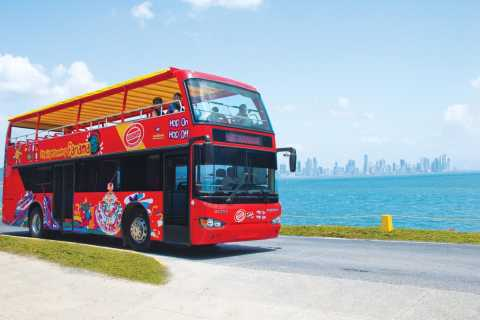 Panama City: Hop-on hop-off-sightseeingbustur