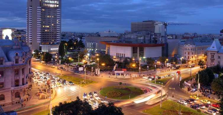 Bucarest: tour nocturno de 2 horas en coche