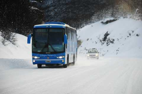 Ushuaia: Cerro Castor Ski Center Round-Trip Transfers
