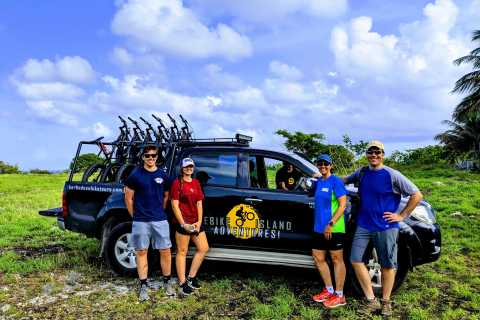Barbados: Northern Cliffs and Canefields Hike and eBike Tour