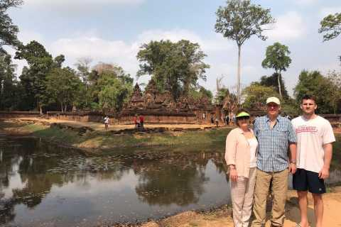 Siem Reap: Angkor Wat Temples & Phnom Kulen Park 3-Day Tour