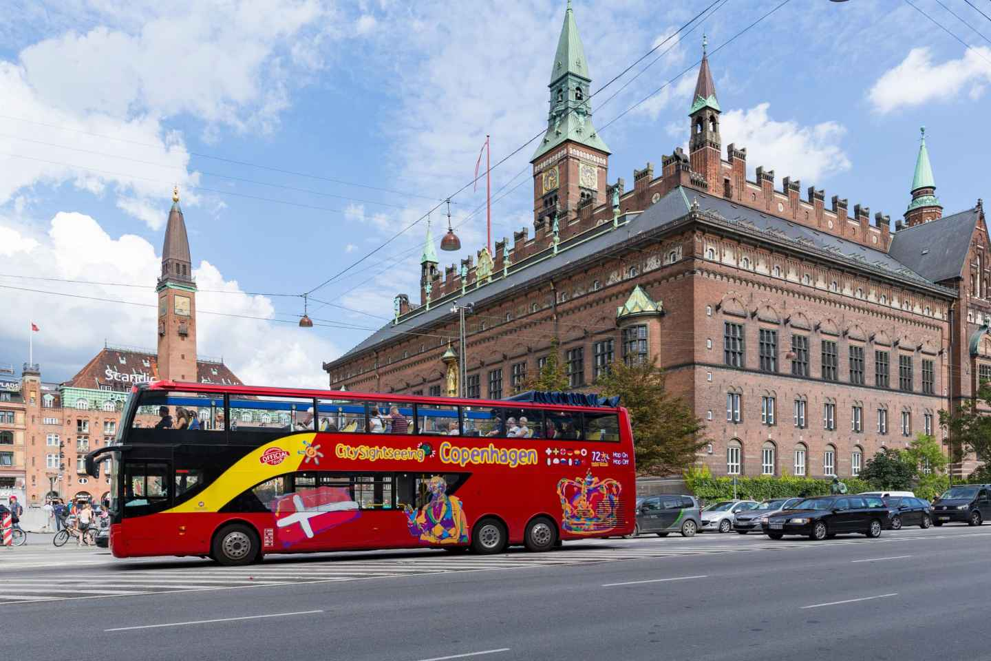 Kopenhagen: Hop-On/Hop-Off Klassik-Route - 72-Stunden-Ticket