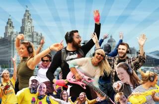 Liverpool: Stille Disco-Abenteuertour