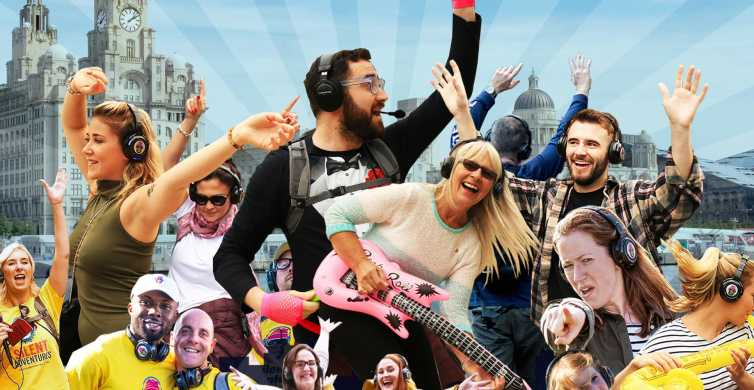 Liverpool: Silent Disco Adventure Tour