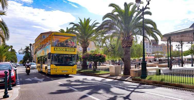 Ajaccio: visite en bus à impériale découverte
