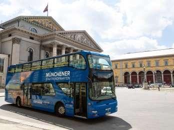 München: Hop-On/Hop-Off-Express-Tour für 24 Stunden