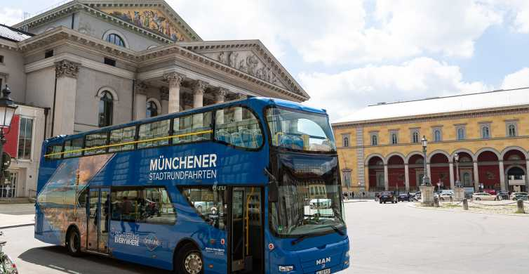 Munich : visite express en bus à arrêts multiples, 24 h