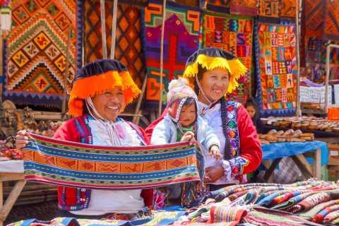 Cusco: Excursão Histórica pelo Vale Sagrado dos Incas 1 Dia