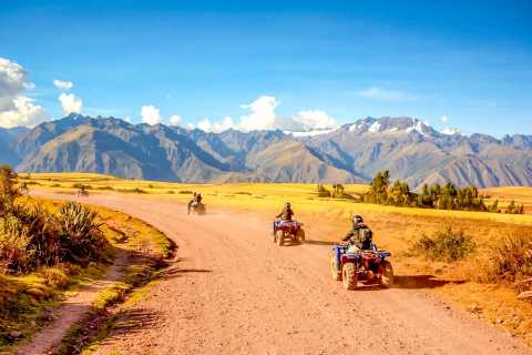 From Cusco: Moray and Salt Mines Quad Bike Tour