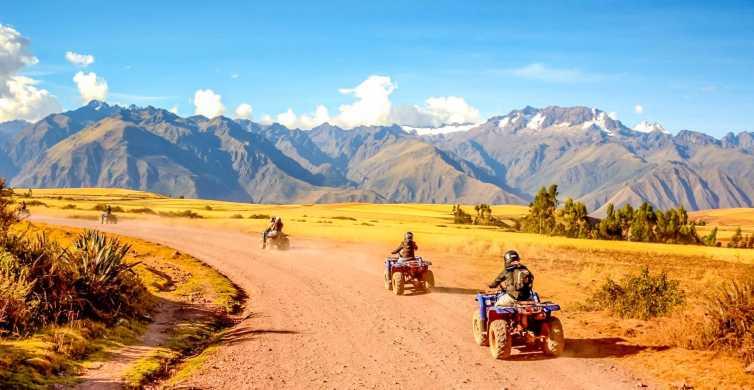 From Cusco: Moray and Salt Mines Quad Bike Tour