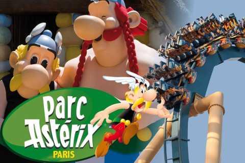 Depuis Paris: billet et transfert au Parc Astérix