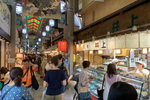 Kyoto: Nishiki Market and Gion Cultural Walking Food Tour