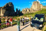 Meteora: Afternoon Minibus Tour from Kalambaka Train Station