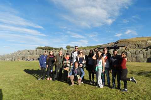 Cusco: Historical Guided City Tour with 4 Inca Ruins
