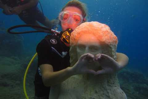 Side: Underwater Museum Scuba Diving Visit