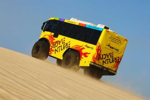 From Doha: Monster Bus Desert Tour