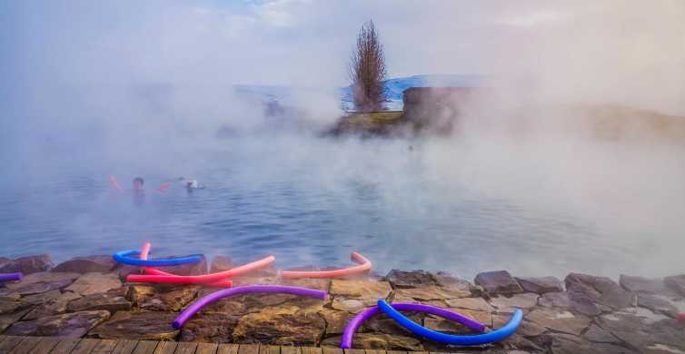Island: Hemliga lagunen, middagsbuffé och norrskensjakt