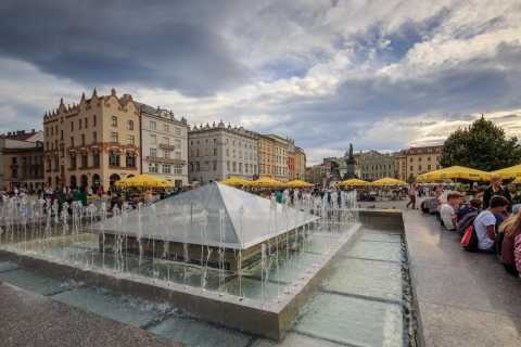 Cracovie: Visite guidée du métro Rynek