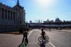 Tour guiado de bicicleta em Kazan
