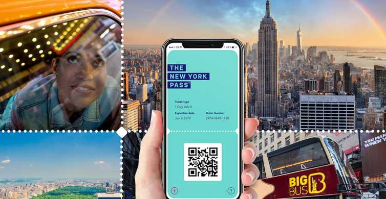 New York Pass: Access to Over 100 Attractions & Tours