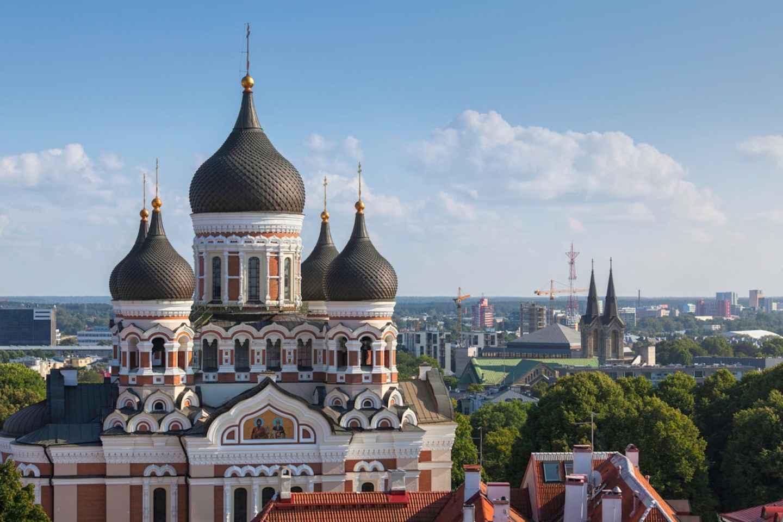 Ab Helsinki: Tagesausflug nach Tallinn & 3-stündige Führung