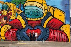 Houston: Mural Tour por carrinho elétrico