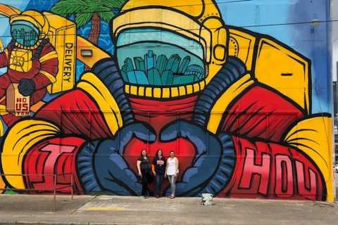 Houston: Mural Tour by Electric Cart