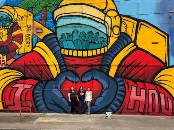 Houston: Wandtour mit dem Elektrocart