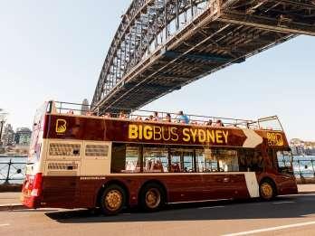 Sydney & Bondi: Big Bus Open-Top Hop-On/Hop-Off Ticket