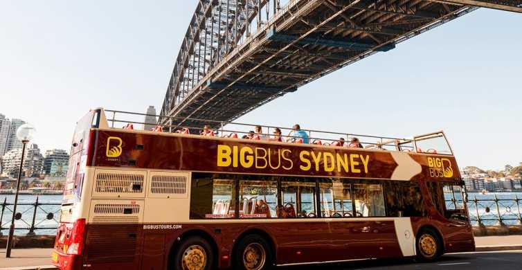 Sydney: Big Bus Open-Top Hop-on Hop-off Tour
