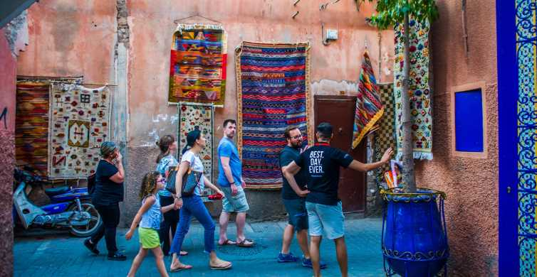 Marrakech: 3-Hour Sightseeing Tour with Home-Cooked Dinner