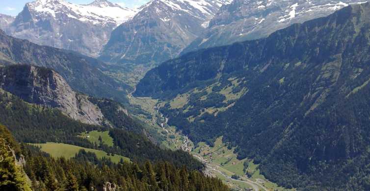 From Lausanne: Transfer to Interlaken Village