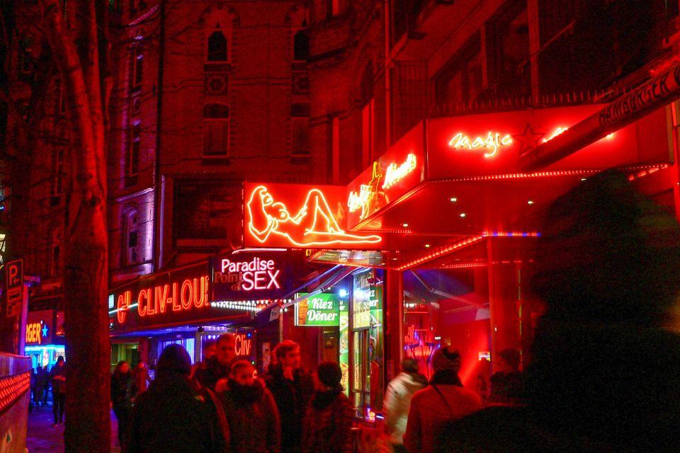 Kieztour: St. Pauli und die Reeperbahn bei Nacht