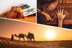 Abu Dhabi: Safari no Deserto com Quadriciclo, Camelos e Churrasco