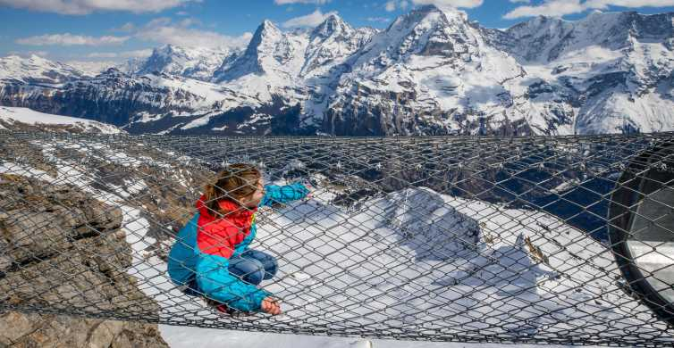From Lausanne: Spectacular Schilthorn with 007 Experience