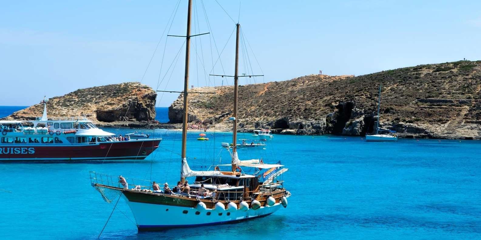 Gozo: ganztägige Tour ab Malta