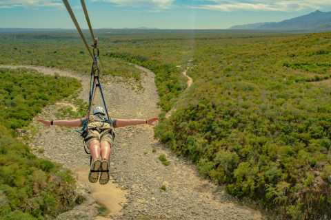 Los Cabos: Zip Lines and UTVs with Mexican Lunch and Drinks