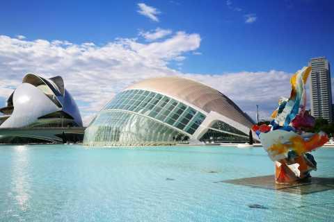 Desde Benidorm: tour privado de historia y vanguardia de Valencia