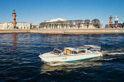 St. Petersburg: Private Boat Trip and Sightseeing Tour