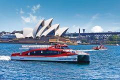 Sydney: bilhete de balsa para cruzeiro tipo hop-on hop-off no porto