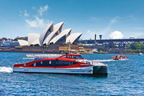 Sydney: Hop-on Hop-off Harbor Cruise Ferry Ticket